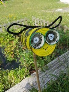 abeille en boite de conserve