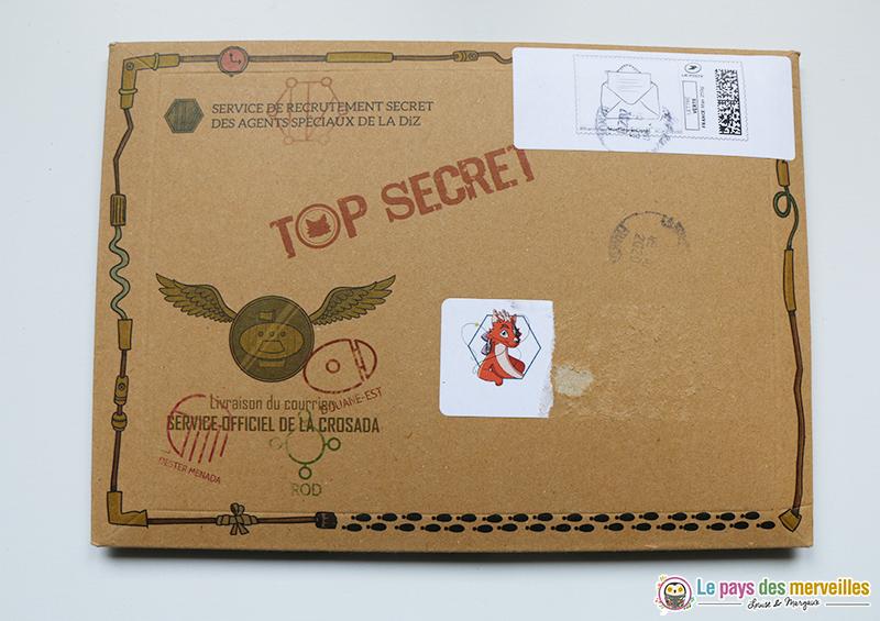 enveloppe top secrète Volarela