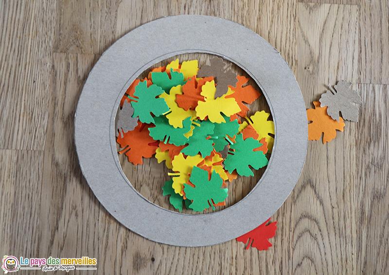 bricolage automne facile pour enfant