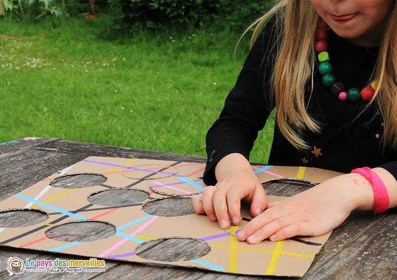 activité puzzle fait maison enfant
