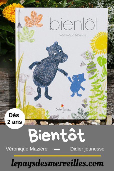 Album Bientôt aux éditions Didier jeunesse