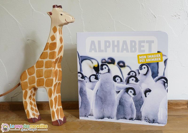 Alphabet, un imagier des animaux tout en carton