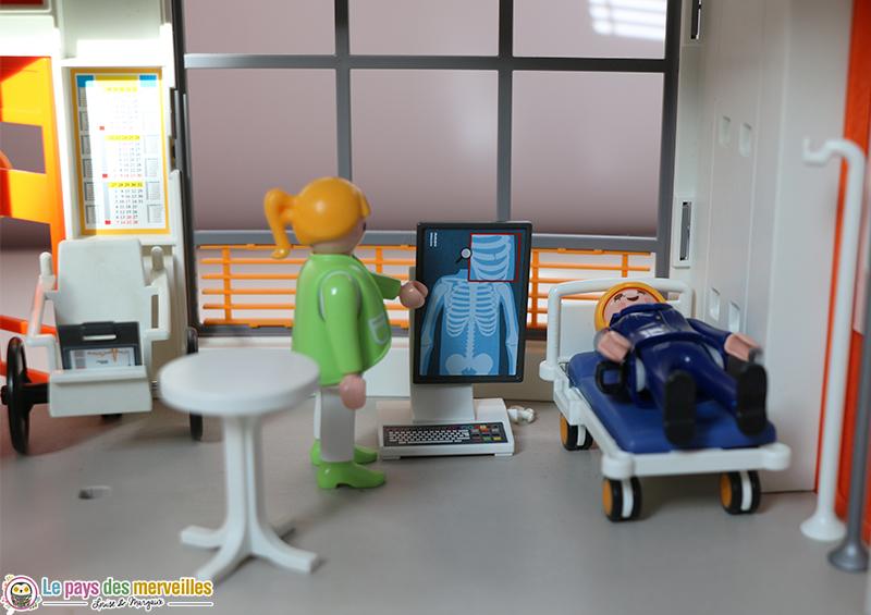 aménagement hopital playmobil
