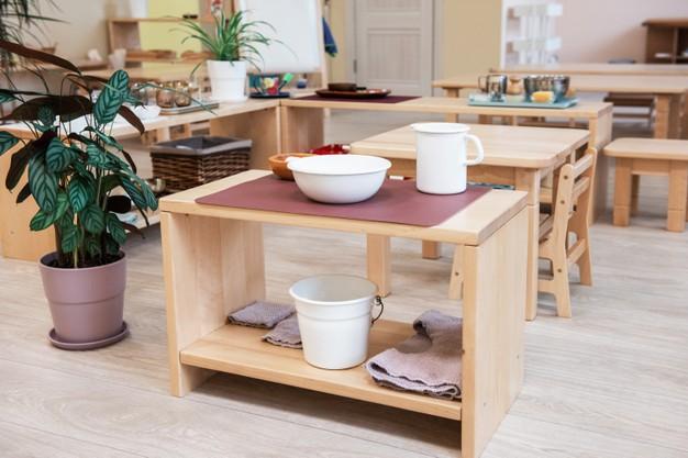 Aménagement Montessori à la maison
