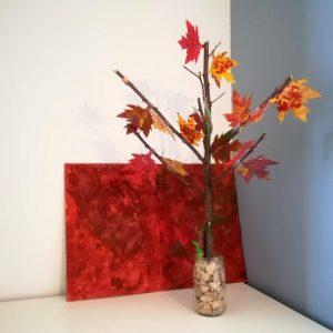 arbre d'automne avec des branches d'arbre