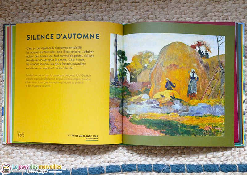 La moisson blonde Gauguin
