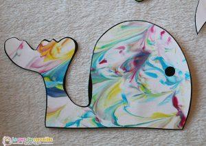 Baleine marbré