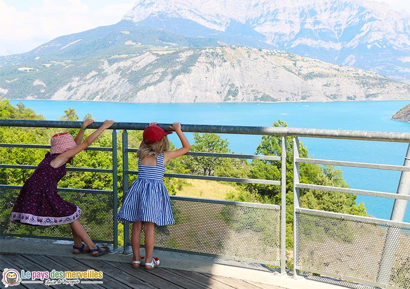 Belvedère du barrage de Serre-Ponçon