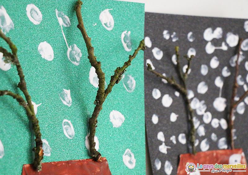 Branche en bois pour réaliser les bois de renne
