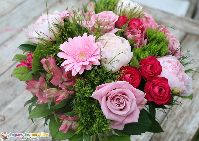 Bouquet de fleurs à faire livrer