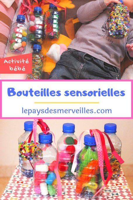 Bouteilles sensorielles pour bébé