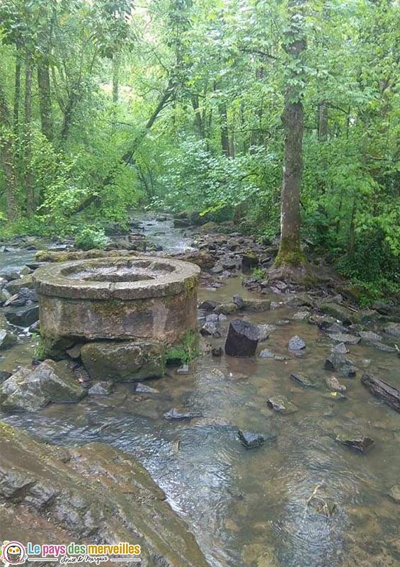 Randonnée avec petite cascade Potigny