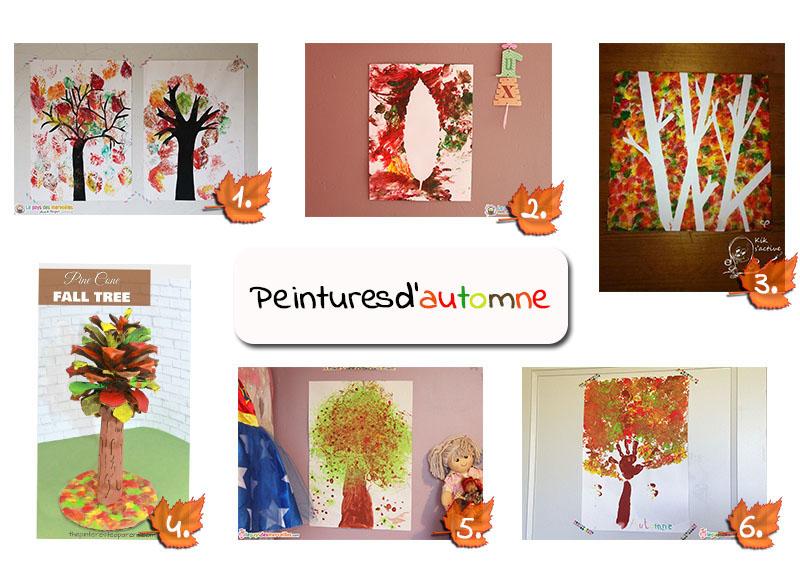 Idées de peintures d'automne pour les enfants