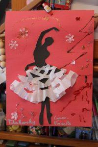 Tutu de danseuse de ballet en papier