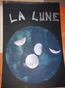 Bricolage sur les phases de la Lune