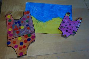 Peinture sur le thème des vacances