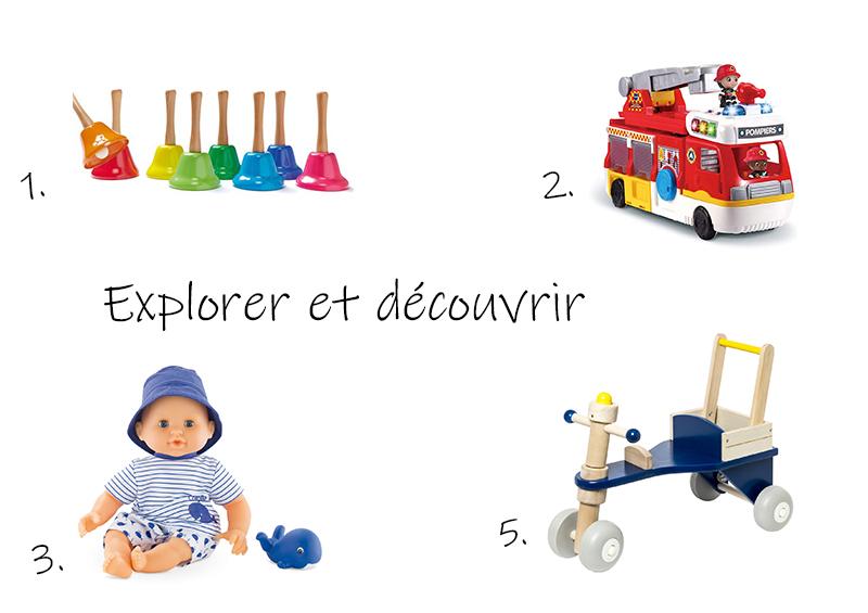 idées de cadeaux pour bébé d'un an