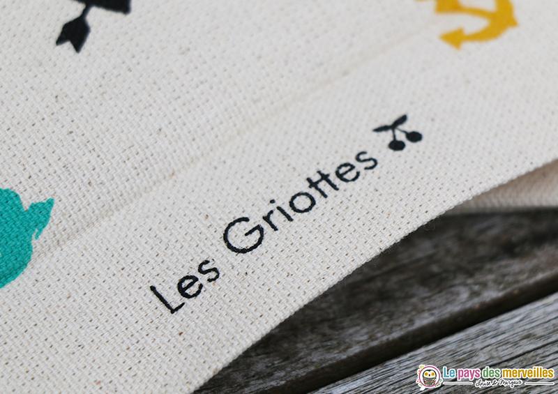 Articles personnalisés Les Griottes