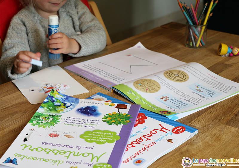 cahier Montessori pour la maternelle