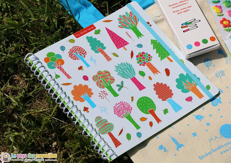 Sticker book majolo arbre