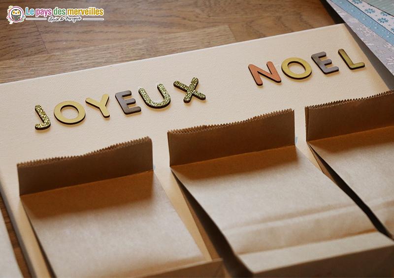 petites lettres en bois