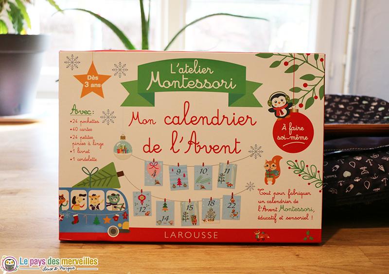 L'atelier Montessori : Calendrier de l'avent
