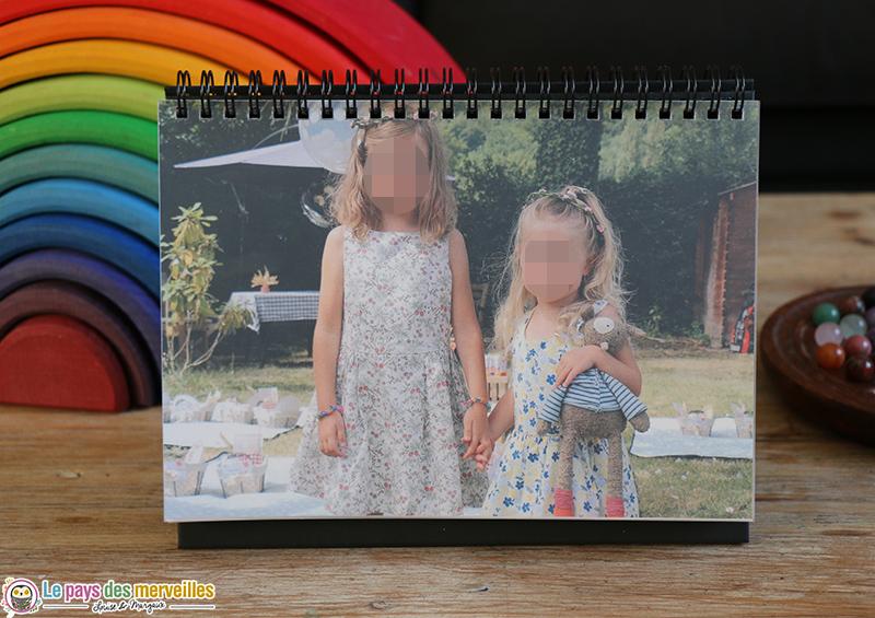 calendrier photos de bureau