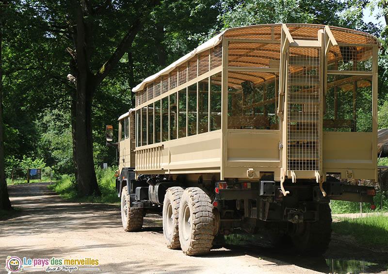 Safari en camion brousse