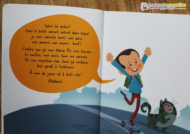 Carnet de souvenirs Aldebert