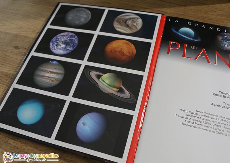 Cartes des planètes