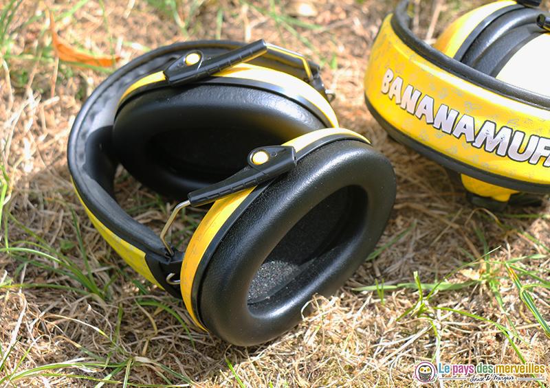 Casque anti-bruits Banana Muffs pour les enfants dès 3 ans