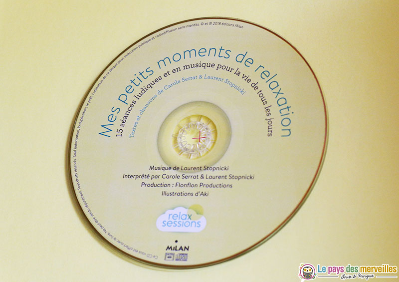 Cd Mes petits moments de relaxation