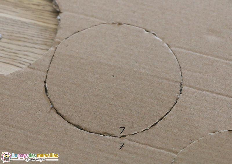cercle numeroté