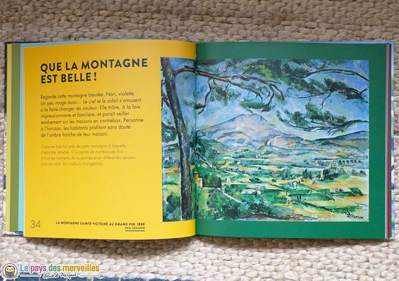 La montagne Sainte-Victoire au Grand pin Cezanne