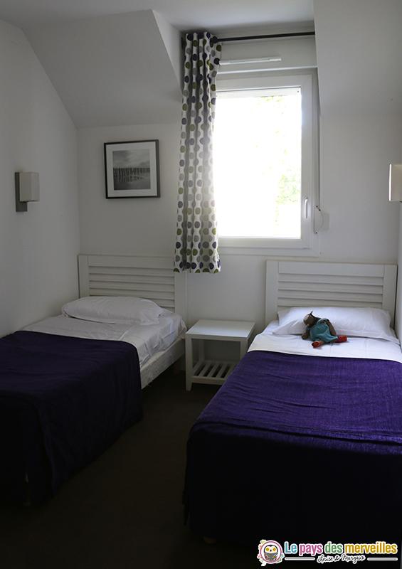 chambre lits doubles