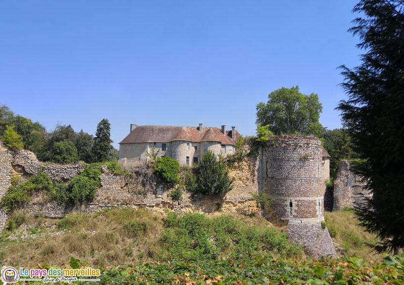 Château d'Harcourt en Normandie