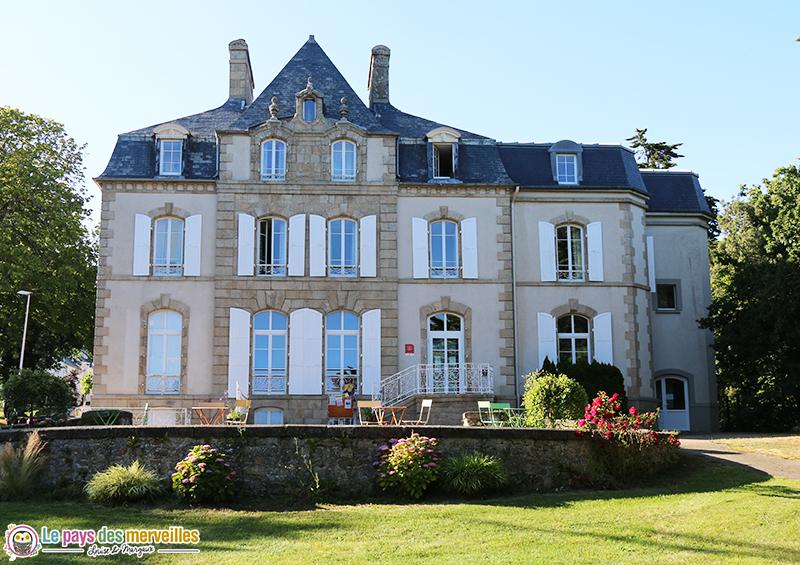 chateau du domaine de la baie Nemea à Audierne