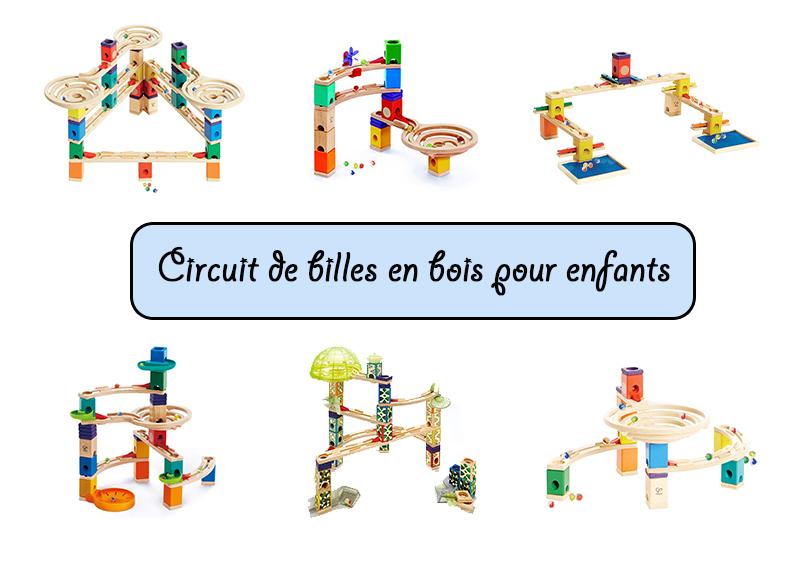 modèles de circuits de billes en bois pour enfants