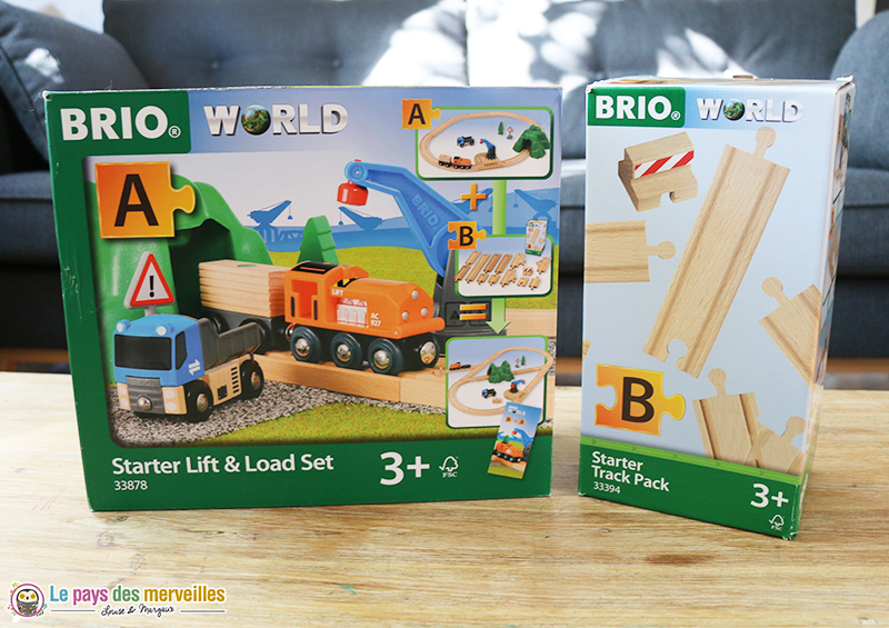 Brio world starter lift load set