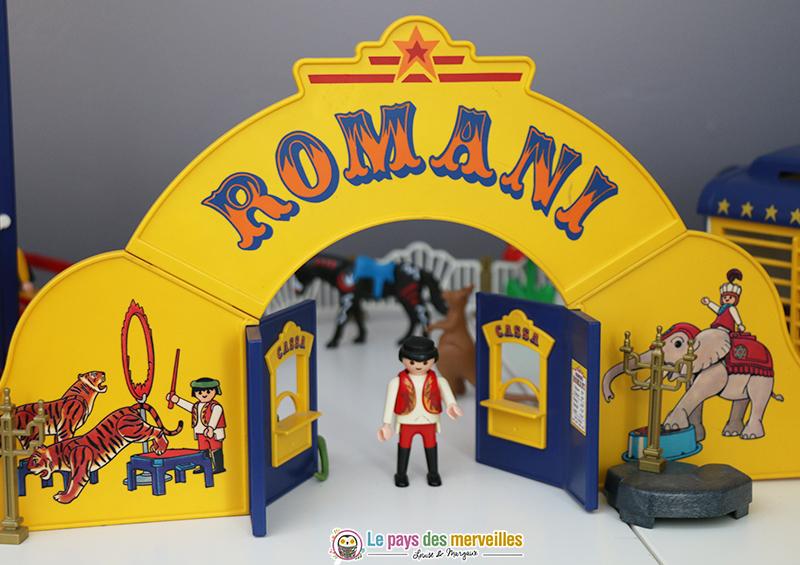Cirque vintage romani playmobil