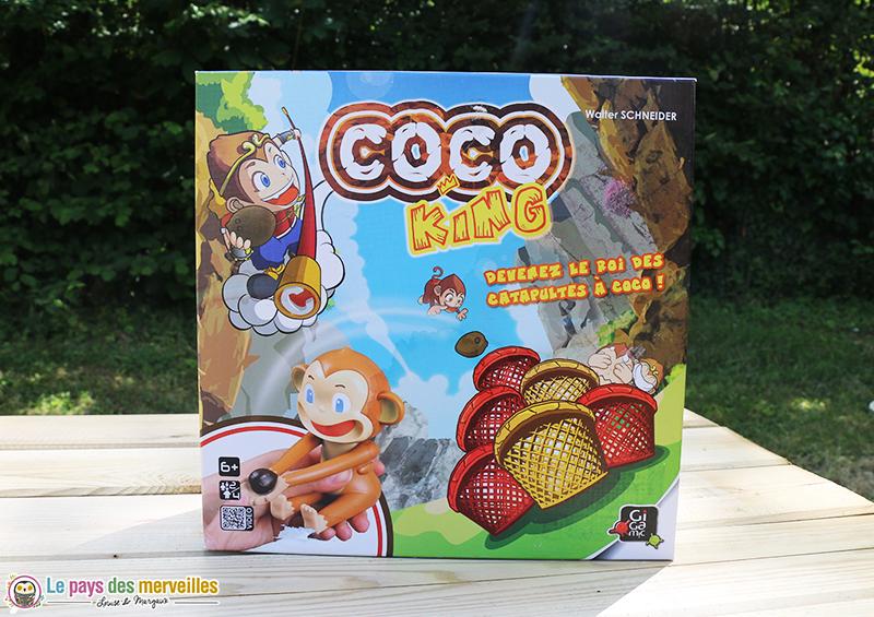 jeu de société Coco King de Gigamic