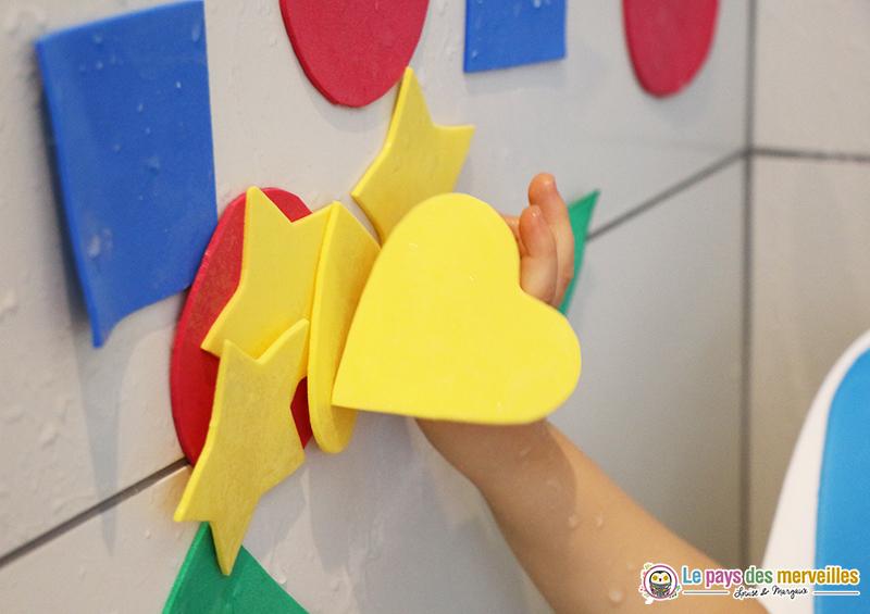 coeur en papier mousse