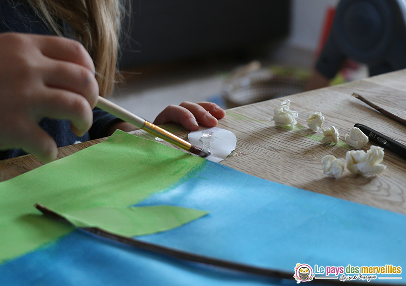 boules de papier pour muguet