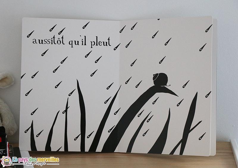 livre pour les bébés Petit Escargot de Thierry Dedieu