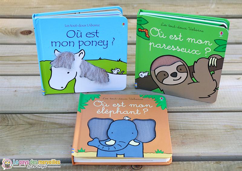 Collection Les tout-doux des éditions Usborne