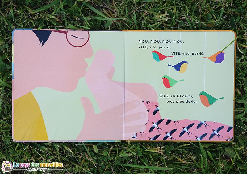 illustrations l'air du printemps collection AREUH