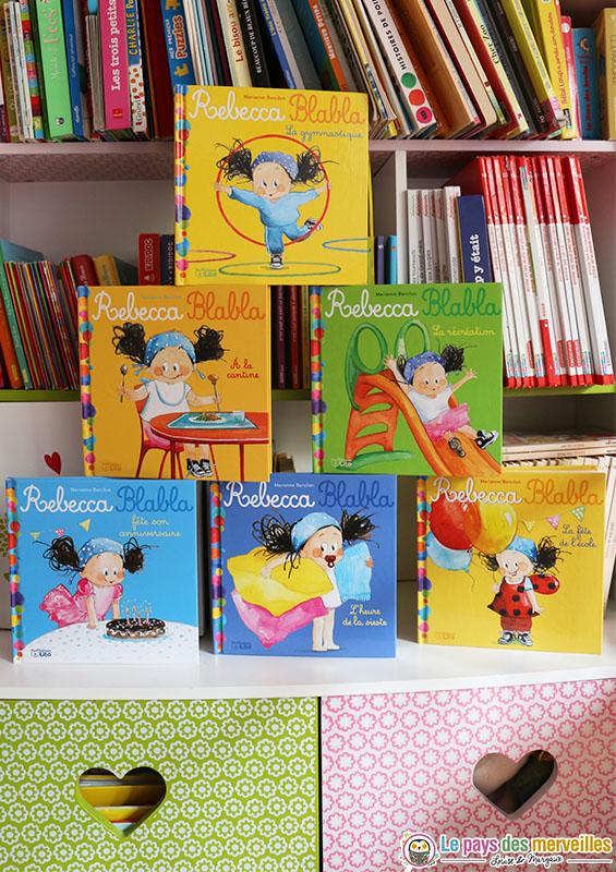 Collection de livres Rebecca Blabla aux éditions Lito