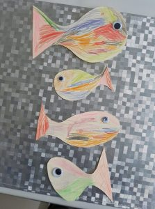 coloriage de poissons