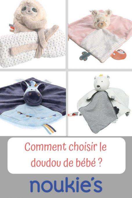 Comment bien choisir le doudou de bébé ?