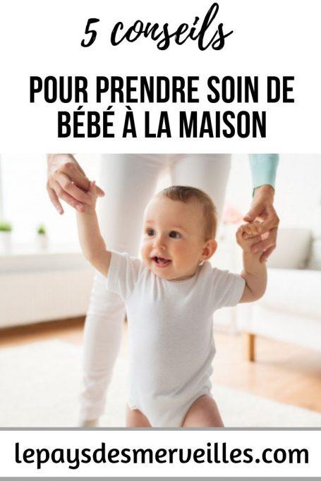5 conseils pour prendre soin de bébé